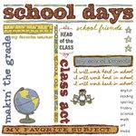 Karen Foster Design - School Days Collection - 12 x 12 Rub-On