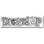 Karen Foster Design - Word Rub-Ons - 2.5 by 10 inch size - Dressed Up, CLEARANCE