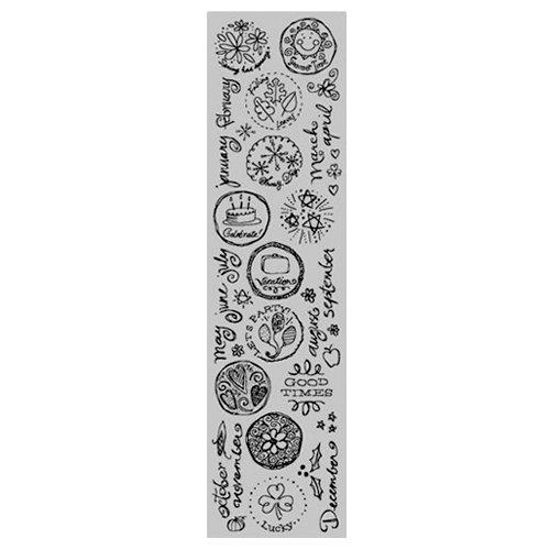 Karen Foster Design - Calendar Collection - Rub Ons - Calendar