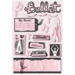 Karen Foster Design - Love to Dance Collection - Sticker - Ballet