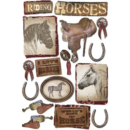 Karen Foster Design - Stickers - Horses