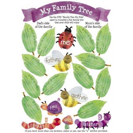 Karen Foster Design - Stickers - My Family Tree