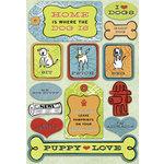 Karen Foster Design - A Dog's Life Collection - Sticker - Puppy Love