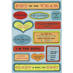 Karen Foster Design - My Pet Collection - Sticker - Pet of the Year, CLEARANCE
