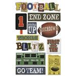 Karen Foster Design - Touchdown Collection - Sticker - Football Touchdown