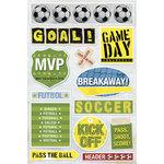 Karen Foster Design - Soccer Collection - Sticker - Soccer Balls, CLEARANCE