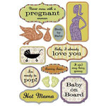 Karen Foster Design - Stickers - Maternity - Pregnancy Collection - Pregnancy