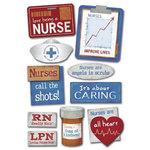 Karen Foster Design - Stickers - Public Heroes Collection - Nurse