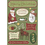 Karen Foster Design - Christmas Collection - Cardstock Stickers - Christmas Tradition