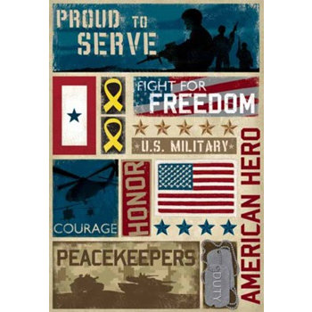 Karen Foster Design - Military Collection - Cardstock Sticker - Military