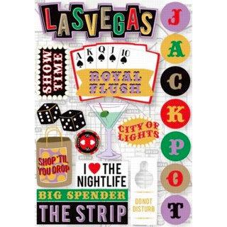 Karen Foster Design - Destination Stickers - Las Vegas