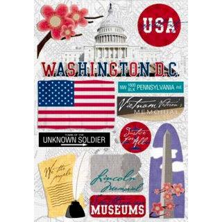 Karen Foster Design - Destination Stickers - Washington DC