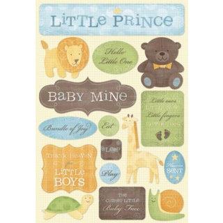 Karen Foster Design - Baby Boy Collection - Stickers - Little Prince