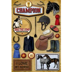 Karen Foster Design - Equestrian Collection - Stickers - Equestrian