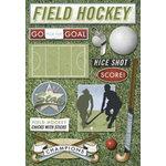 Karen Foster Design - Field Hockey Collection - Stickers - Field Hockey
