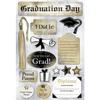 Karen Foster Design - Graduation Collection - Stickers - Graduate