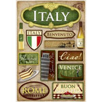 Karen Foster Design - Destination Stickers - Italy