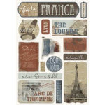 Karen Foster Design - Destination Stickers - France