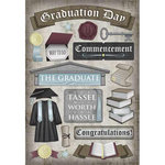 Karen Foster Design - Graduation Collection - Cardstock Stickers - Commencement