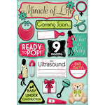 Karen Foster Design - Maternity Collection - Cardstock Stickers - Coming Soon