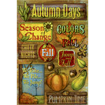 Karen Foster Design - Autumn Collection - Cardstock Stickers - Jump Into Fall