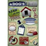 Karen Foster Design - Dog Collection - Cardstock Stickers - Man's Best Friend