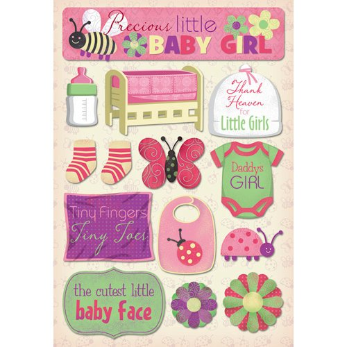 Karen Foster Design - Cardstock Stickers - Daddy's Girl