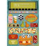 Karen Foster Design - Cardstock Stickers - Family Fun Night