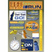 Karen Foster Design - Cardstock Stickers - Born To Run