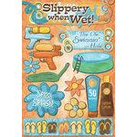 Karen Foster Design - Water Fun Collection - Cardstock Stickers - Splish Splash