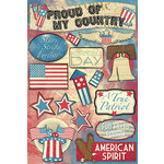 Karen Foster Design - Patriotic Collection - Cardstock Stickers - Stars and Stripes Forever