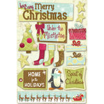 Karen Foster Design - Christmas Collection - Cardstock Stickers - Under the Mistletoe
