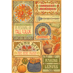 Karen Foster Design - Thanksgiving and Autumn Collection - Cardstock Stickers - Colors of Fall