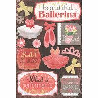 Karen Foster Design - Ballet Collection - Cardstock Stickers - Beautiful Ballerina