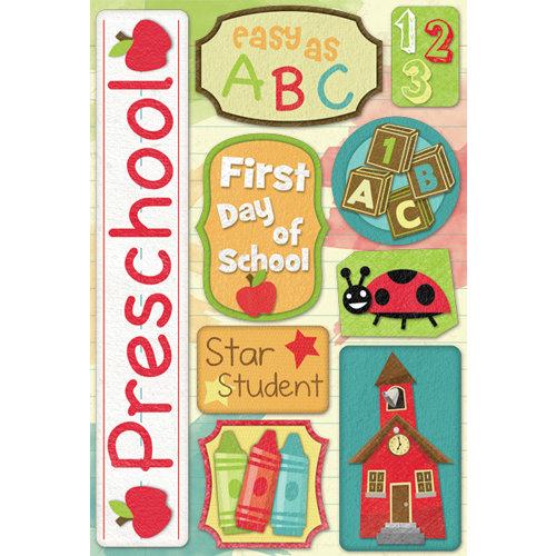 Karen Foster Design - Grade School Collection - Cardstock Stickers - Preschool