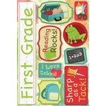 Karen Foster Design - Grade School Collection - Cardstock Stickers - First Grade