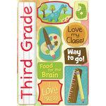 Karen Foster Design - Grade School Collection - Cardstock Stickers - Third Grade