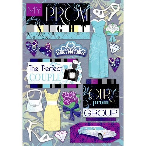 Karen Foster Design - Prom Collection - Cardstock Stickers - My Prom Night