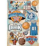 Karen Foster Design - Basketball Collection - Cardstock Stickers - Above The Rim
