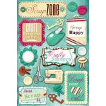 Karen Foster Design - Scrapbooking Collection - Cardstock Stickers - Scrap Zone