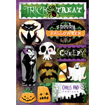 Karen Foster Design - Halloween Collection - Cardstock Stickers - Let's Trick Or Treat