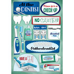 Karen Foster Design - Dentist and Orthodontist Collection - Cardstock Stickers - Dentist and Orthodontist