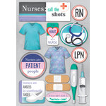 Karen Foster Design - Nurse Collection - Cardstock Stickers - Nurses