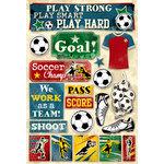 Karen Foster Design - Soccer Collection - Cardstock Stickers - Soccer, Goal