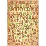 Karen Foster Design - Christmas Collection - Cardstock Stickers - Whimsy Alphabet