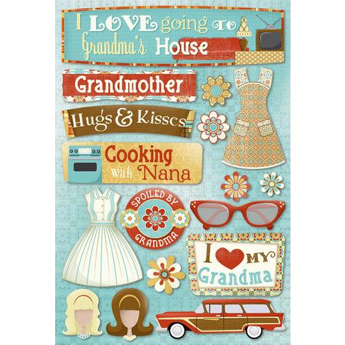 Karen Foster Design - Grandma Collection - Cardstock Stickers - Classic Grandma