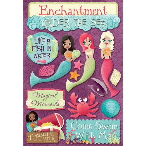 Karen Foster Design - Mermaids Collection - Cardstock Stickers - Magical Mermaids
