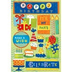 Karen Foster Design - Birthday Collection - Cardstock Stickers - It's My Party
