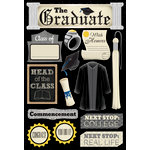 Karen Foster Design - Graduation Collection - Cardstock Stickers - The Graduate