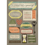 Karen Foster Design - In Memory Collection - Cardstock Stickers - Celebrating A Special Life